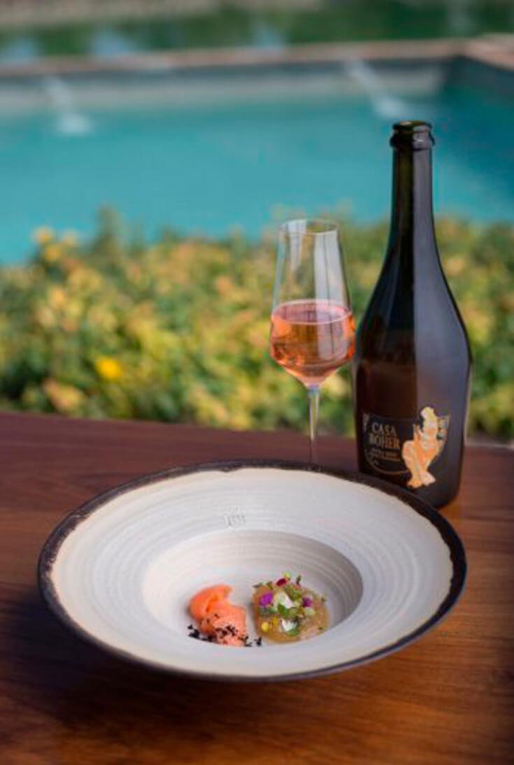 Modern native cuisine in a unique environment