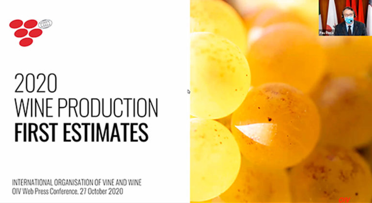 OIV – 2020 World Wine Production First Estimates