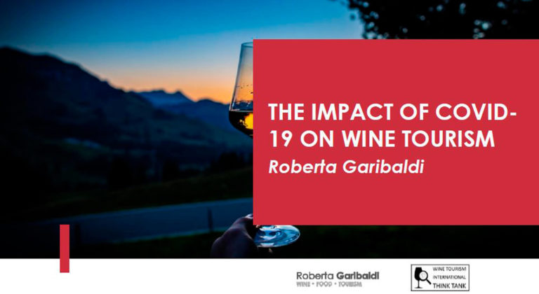 Roberta Garibaldi : The impact of COVID-19 on Wine Tourism