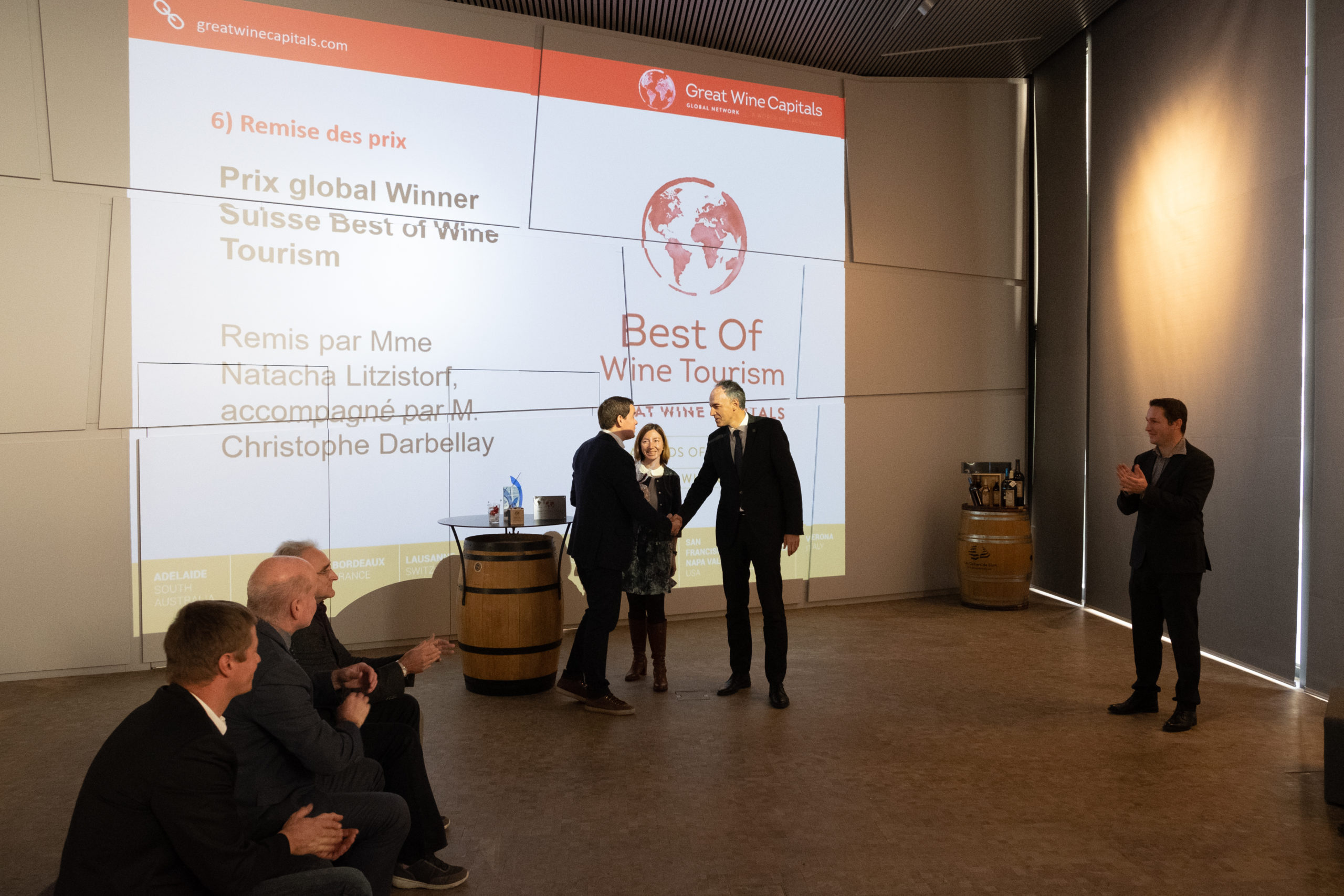 Celliers de Sion Award