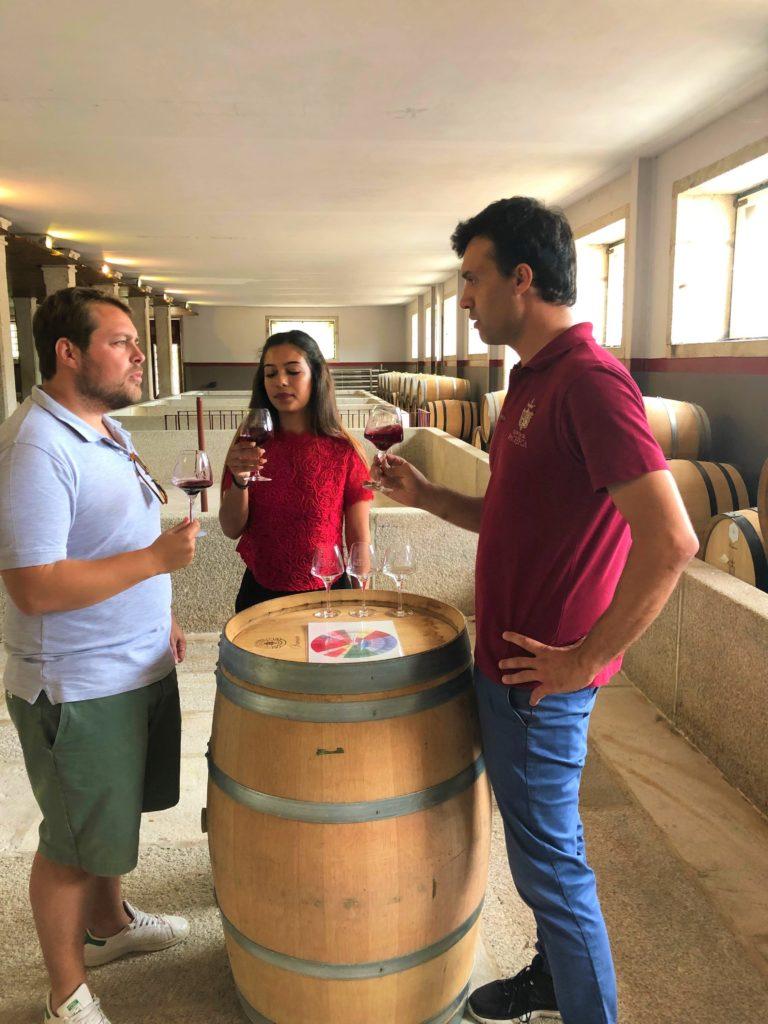 Wine Tour tasting