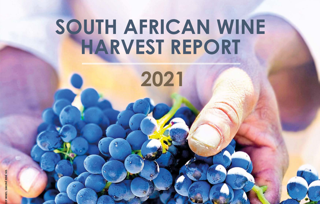 South African Wine Harvest Report 2021