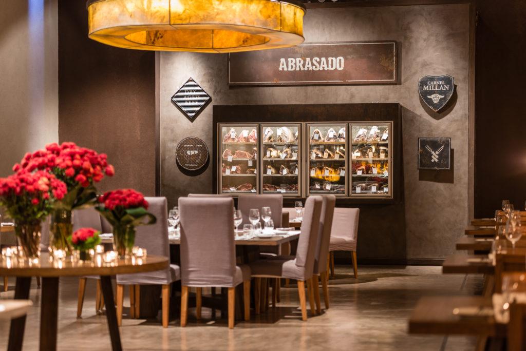 Abrasado Restaurante in Los Toneles Winery