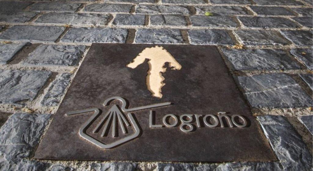 Bilbao-Rioja Camino de Santiago in Logrono
