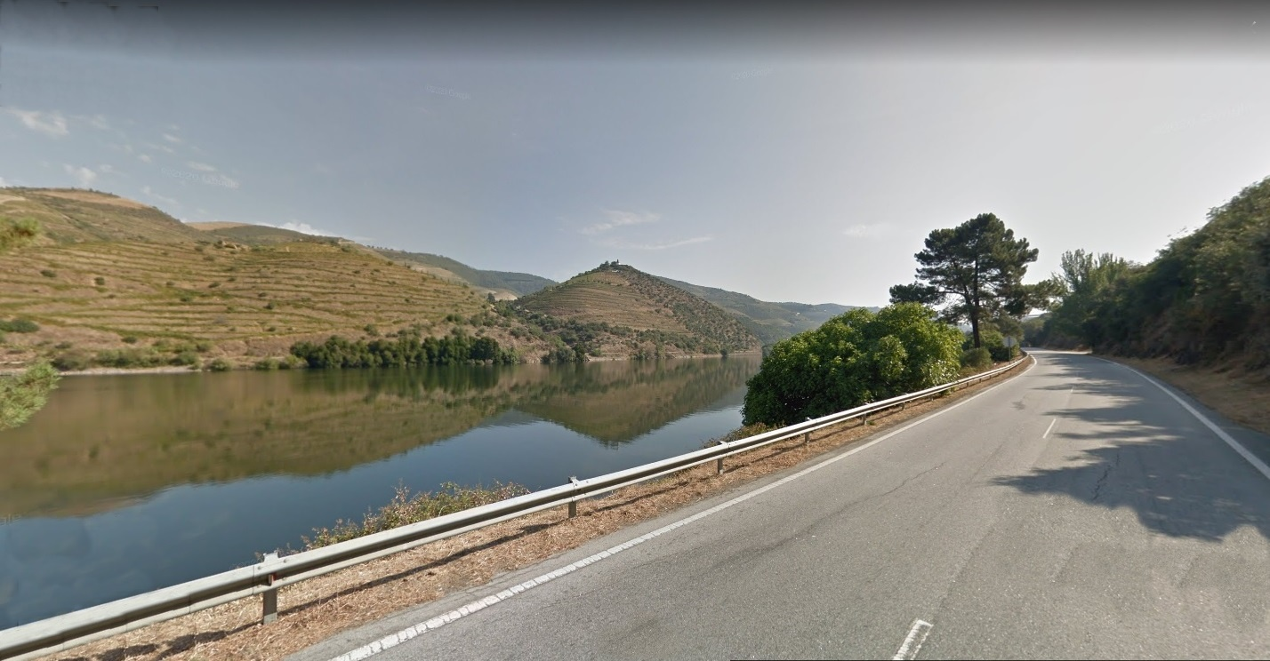 The Best Road in the World is located in Northern Portugal