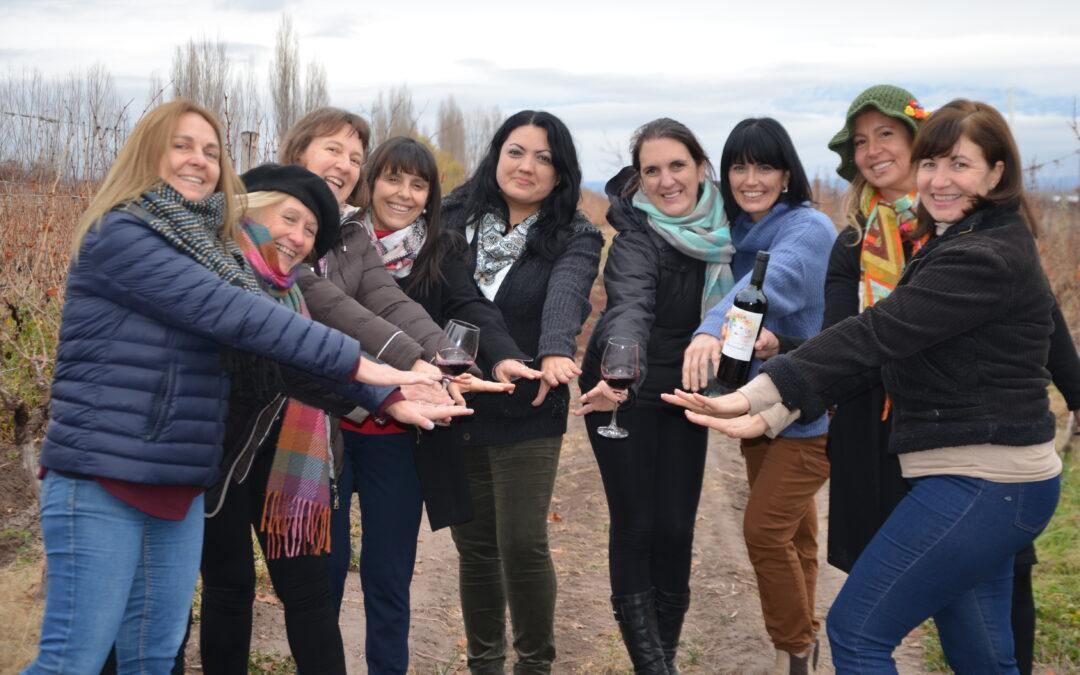 Women passionate about wine in Mendoza!