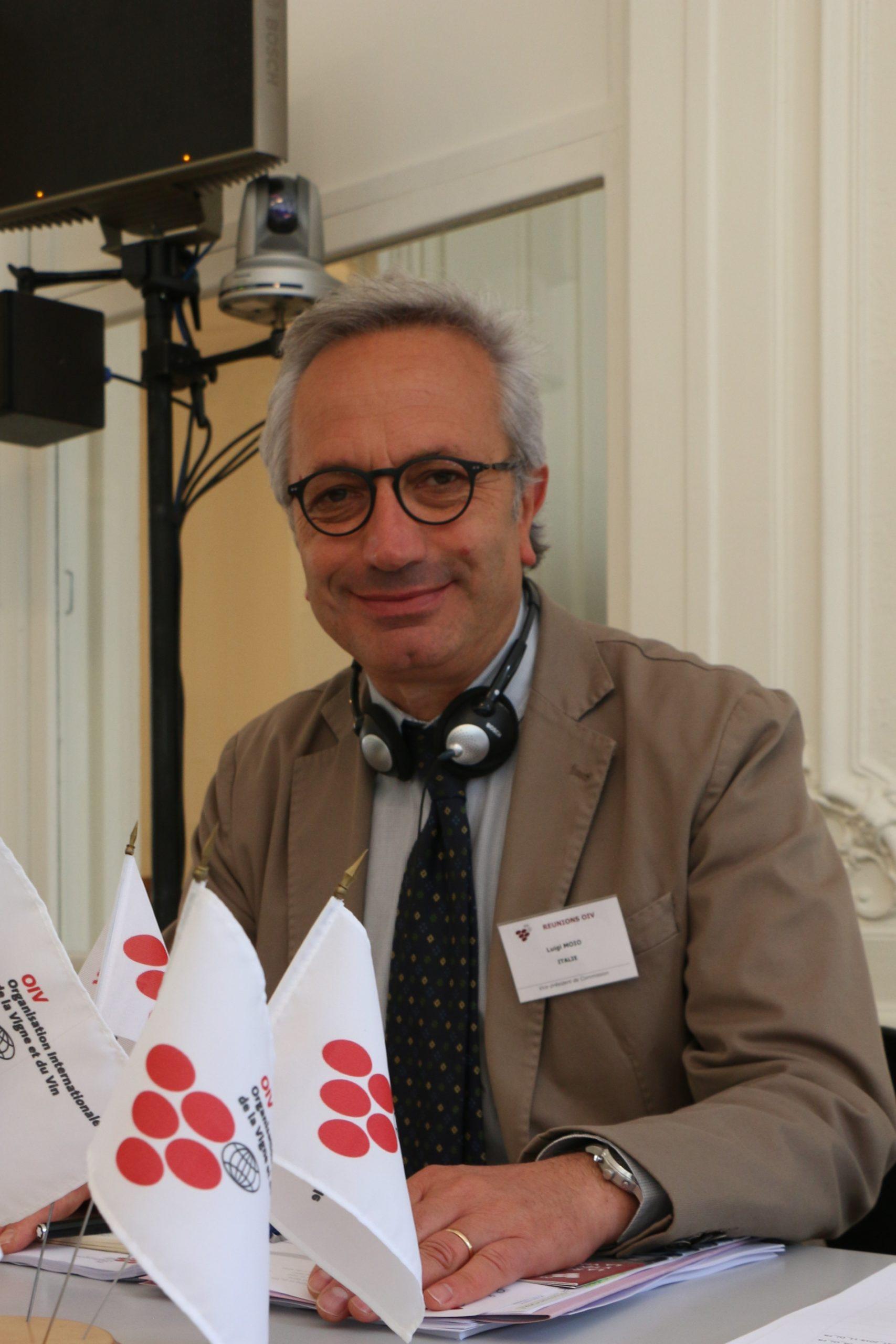 Luigi Moio elected as President of the OIV