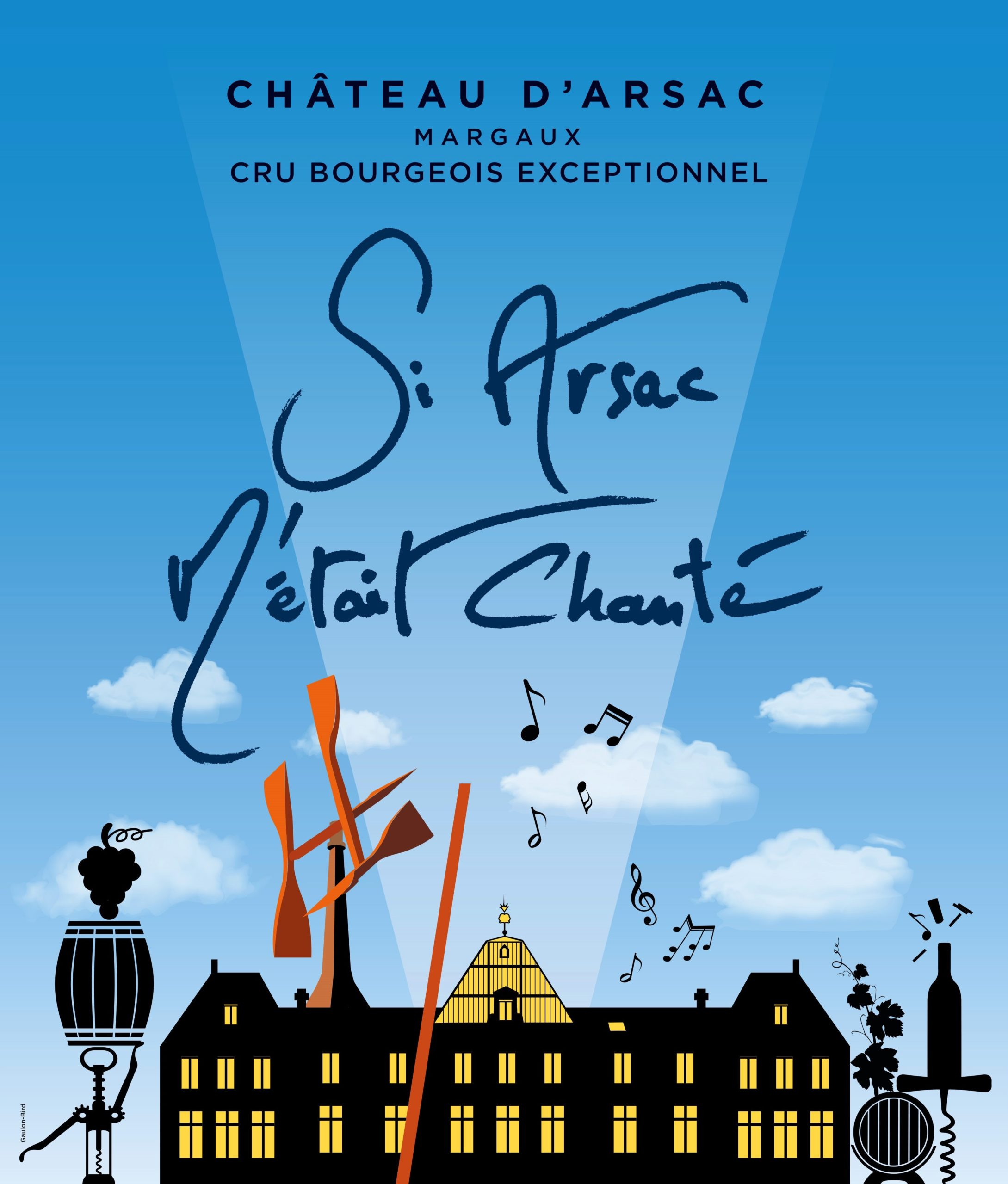"""""""Songs of Arsac"""", the world's first wine and music tour in English"""