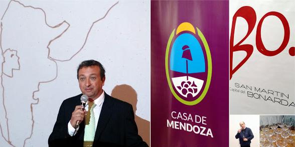 Sharbel Morcos presenting Bonarda Argentina