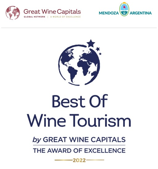Mendoza will present the winners of the Best of Mendoza´s Wine Tourism Awards