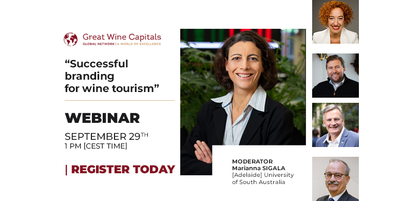 Great Wine Capitals webinar: Successful branding for wine tourism